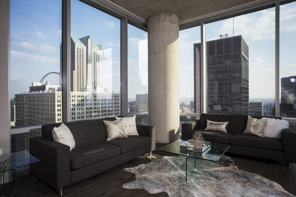 Downtown St. Louis Living Tower at OPOP